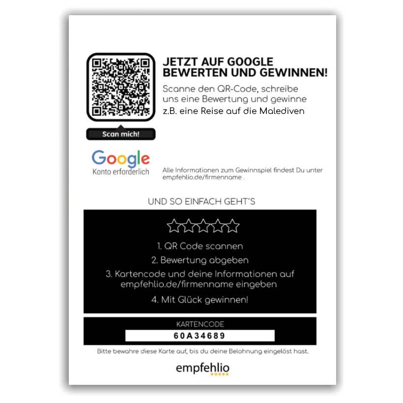 Google Gewinnspiel